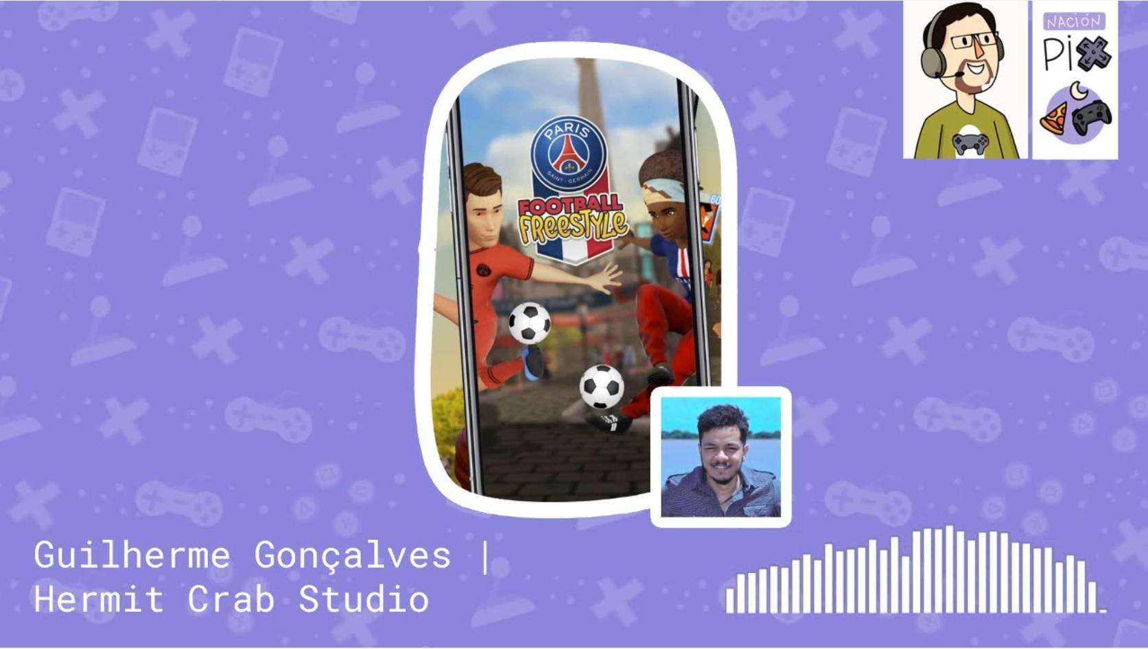 Malteada Pix | ¿Cómo hacen videojuegos en Brasil? (Guilherme Gonçalves – Hermit Crab Game Studio)
