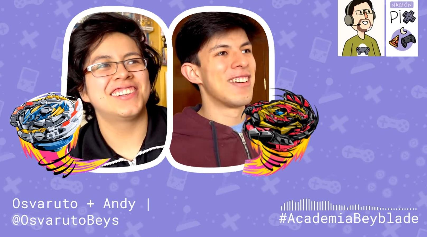 Entrevista | Osvaruto + Andy – Academia Beyblade